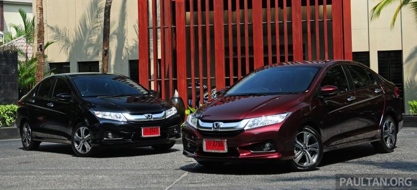 DRIVEN: 2014 Honda City i-VTEC previewed in Phuket Image #232869
