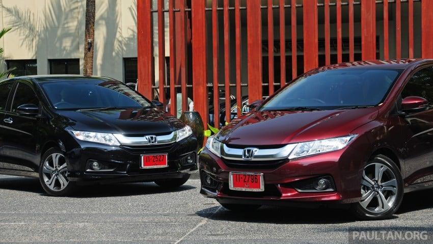 DRIVEN: 2014 Honda City i-VTEC previewed in Phuket Image #232870