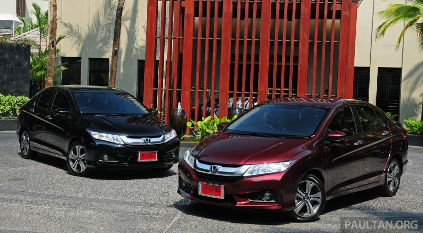 DRIVEN: 2014 Honda City i-VTEC previewed in Phuket Image #232871