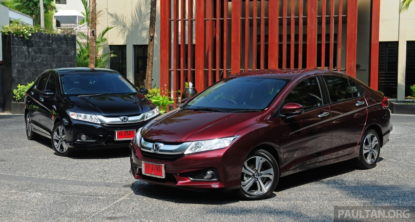 DRIVEN: 2014 Honda City i-VTEC previewed in Phuket Image #232872