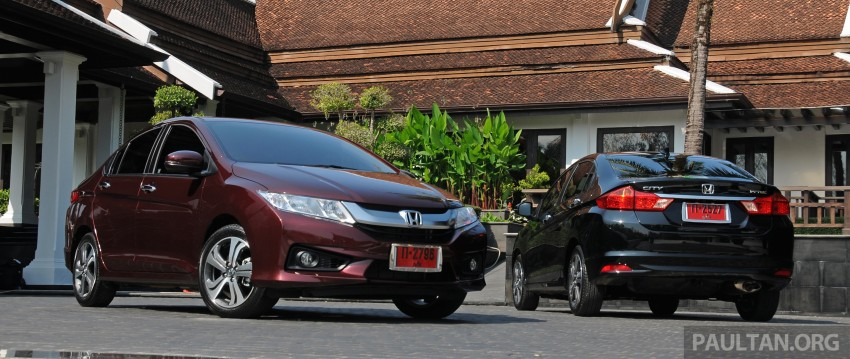 DRIVEN: 2014 Honda City i-VTEC previewed in Phuket Image #232874