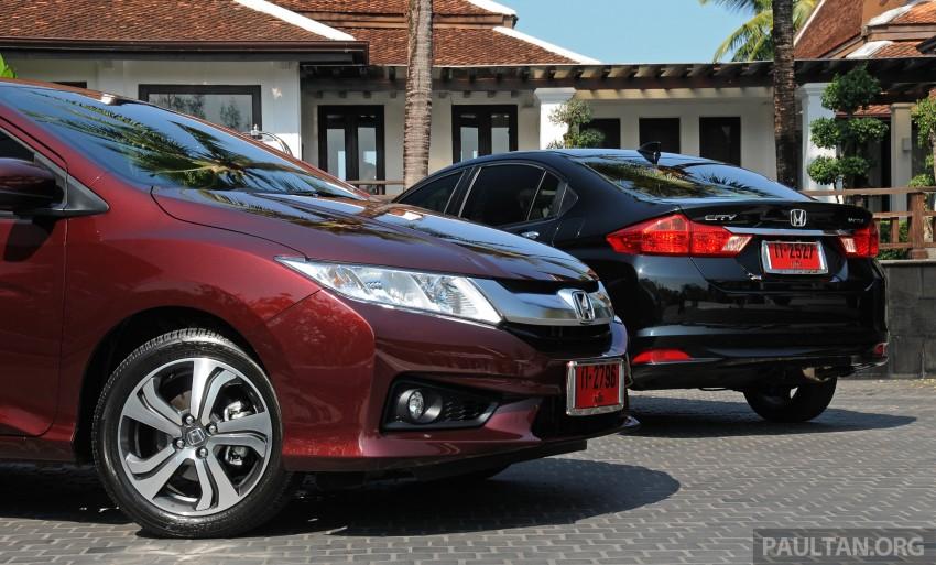DRIVEN: 2014 Honda City i-VTEC previewed in Phuket Image #232875
