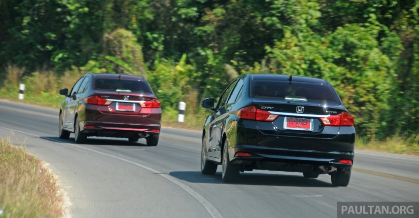 DRIVEN: 2014 Honda City i-VTEC previewed in Phuket Image #232877