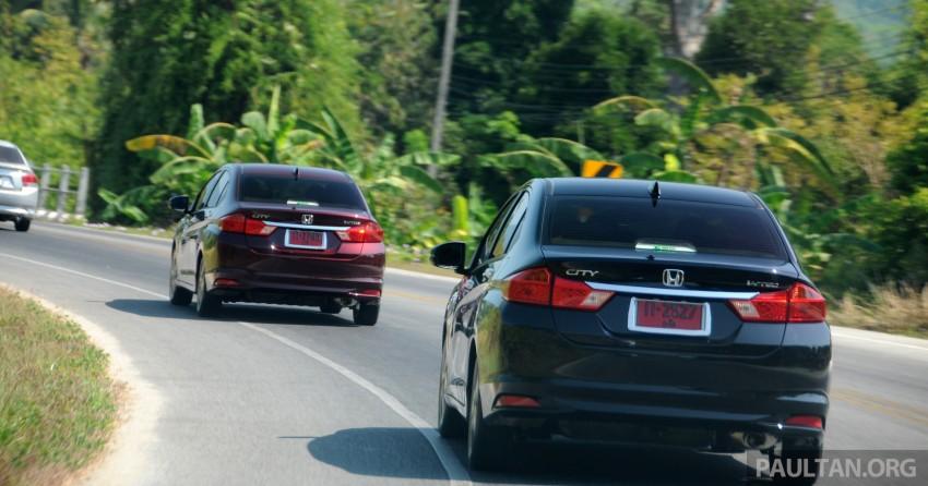 DRIVEN: 2014 Honda City i-VTEC previewed in Phuket Image #232878