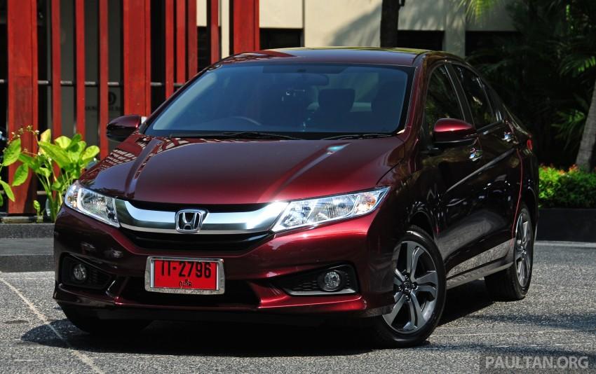 DRIVEN: 2014 Honda City i-VTEC previewed in Phuket Image #232880
