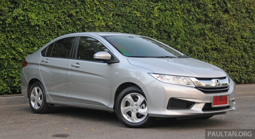 DRIVEN: 2014 Honda City i-VTEC previewed in Phuket Image #232881
