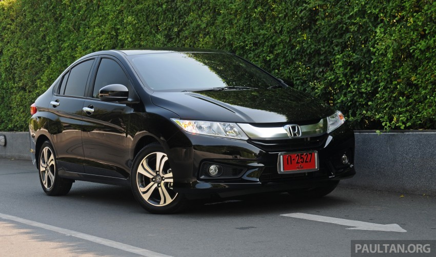 DRIVEN: 2014 Honda City i-VTEC previewed in Phuket Image #232883