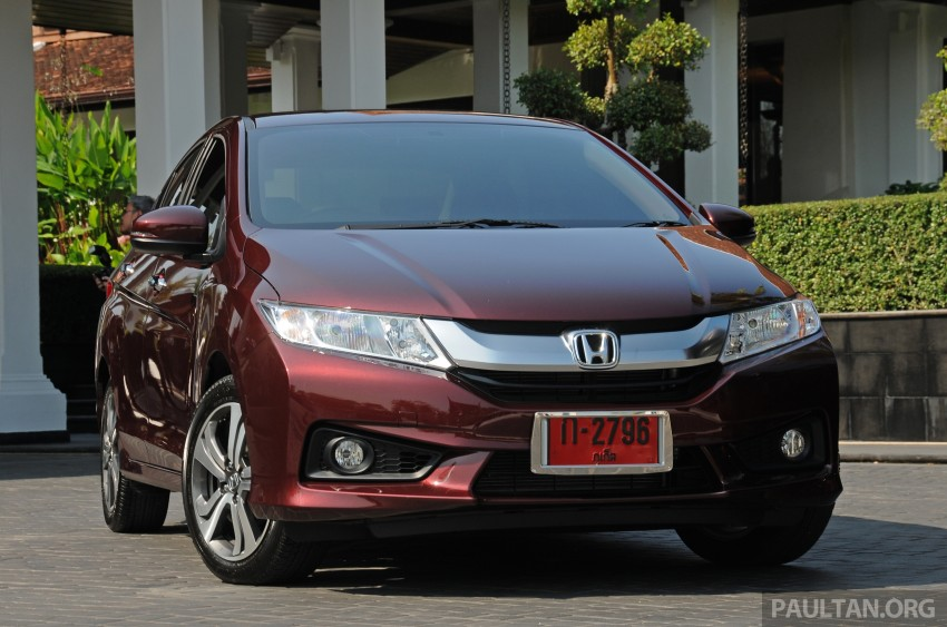 DRIVEN: 2014 Honda City i-VTEC previewed in Phuket Image #232892