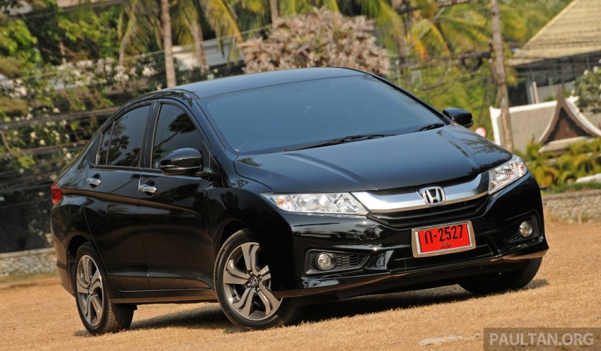 DRIVEN: 2014 Honda City i-VTEC previewed in Phuket Image #232894
