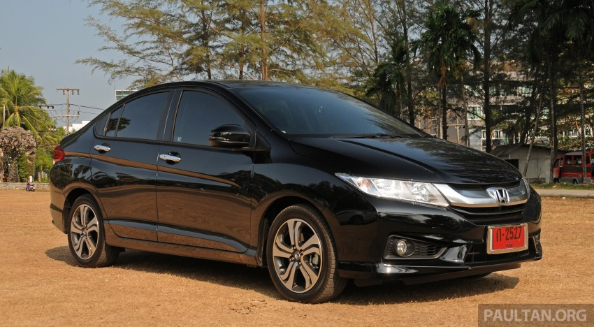 DRIVEN: 2014 Honda City i-VTEC previewed in Phuket Image #232896