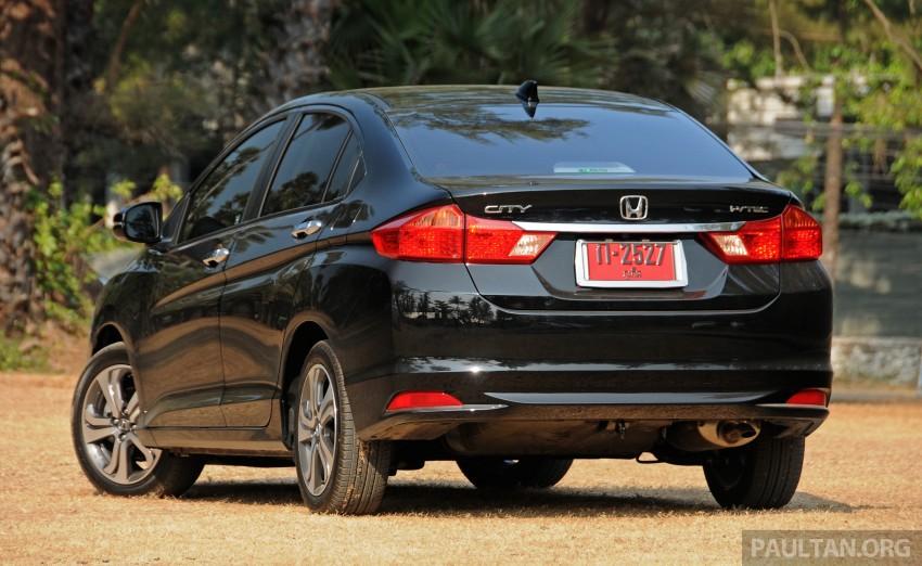 DRIVEN: 2014 Honda City i-VTEC previewed in Phuket Image #232898