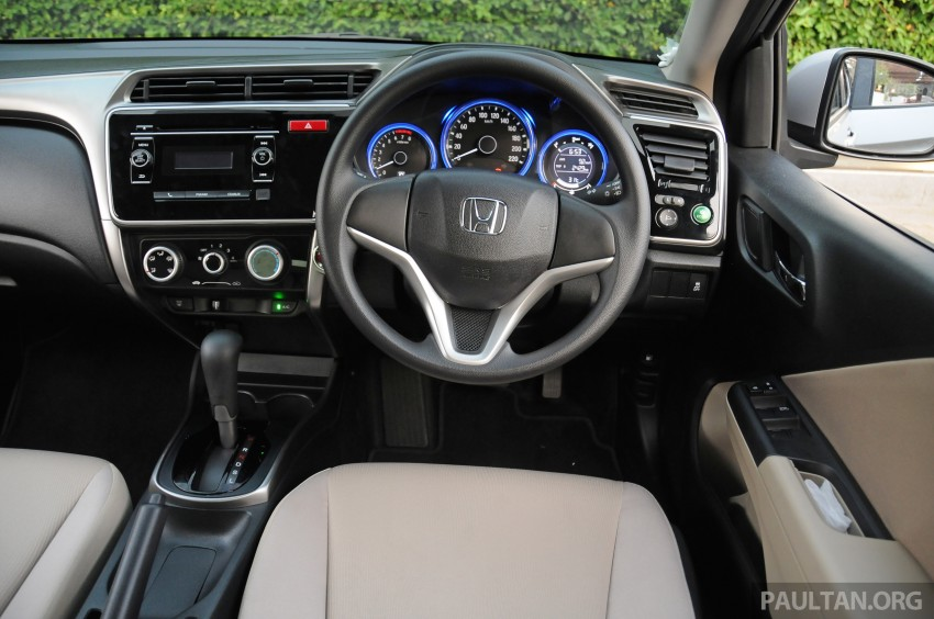 DRIVEN: 2014 Honda City i-VTEC previewed in Phuket Image #233249