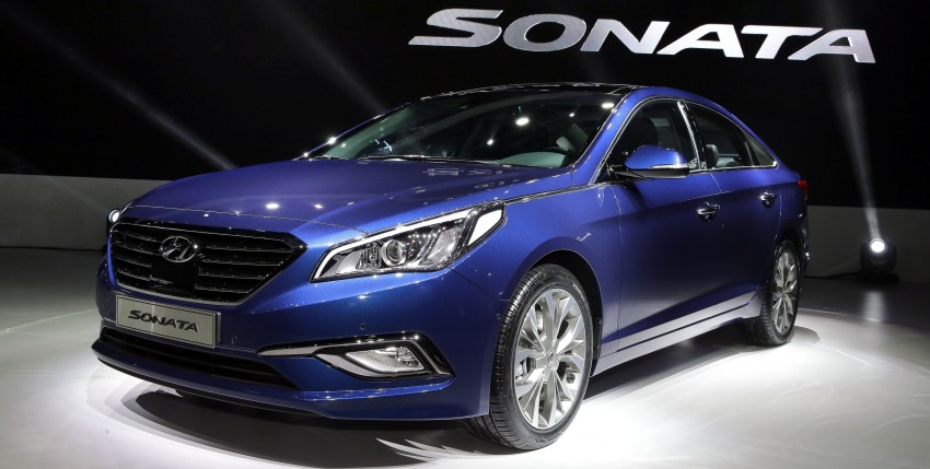 2015 Hyundai Sonata makes its world debut in Korea Image #236751