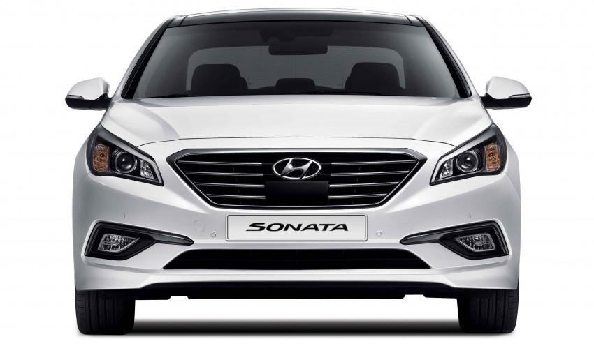 2015 Hyundai Sonata makes its world debut in Korea Image #236750