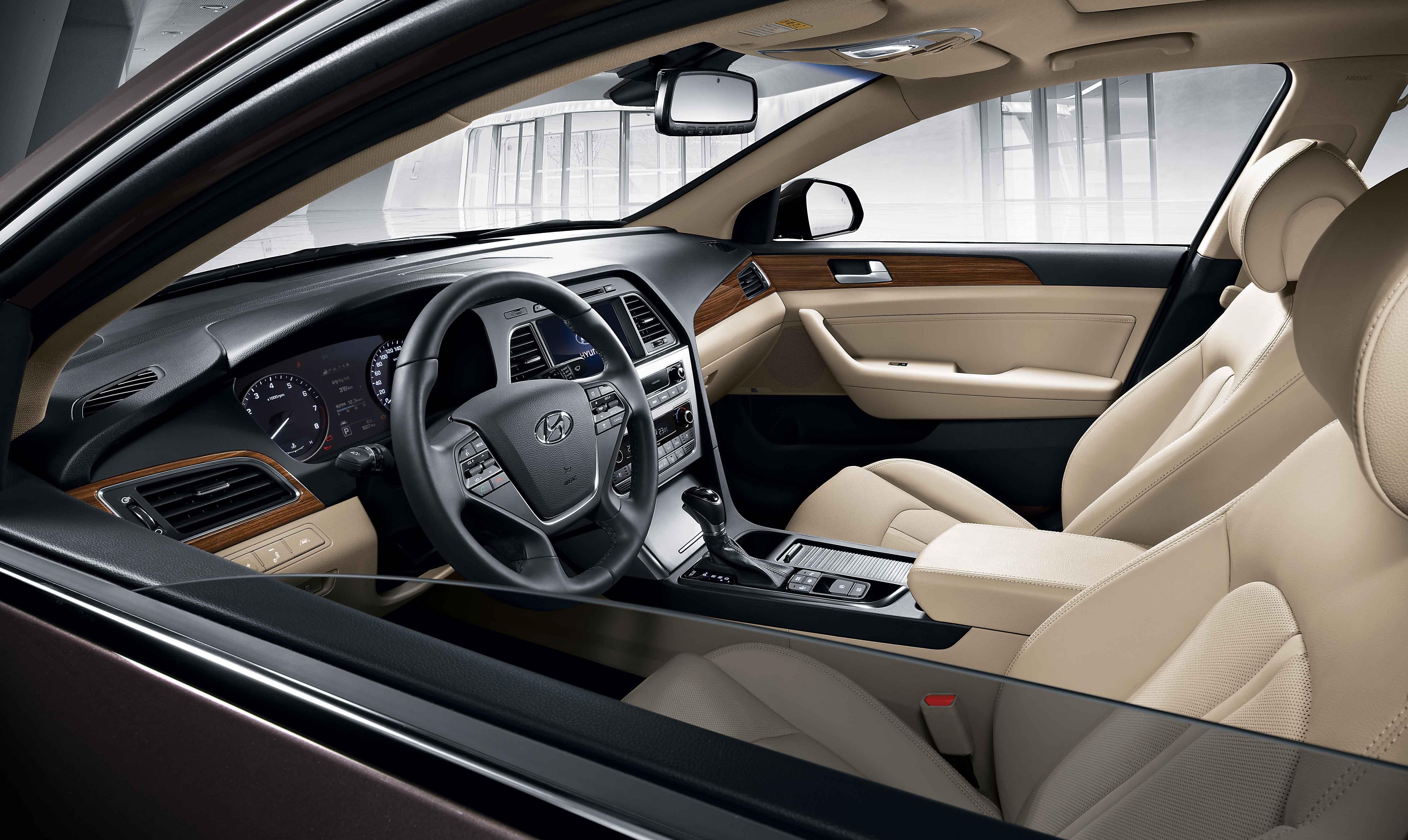 dash front sonata auto infotainment interior hyundai in android integrate reveal korean carplay hyndai and spec to