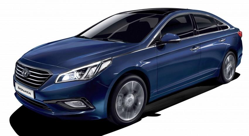 2015 Hyundai Sonata makes its world debut in Korea Image #236743