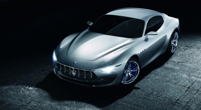 Maserati Alfieri – 2+2 concept previews 911 rival Image #232646