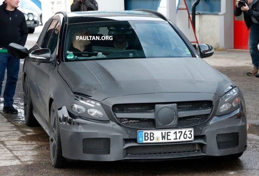 SPYSHOTS: Mercedes-Benz C 63 AMG super wagon Image #234797