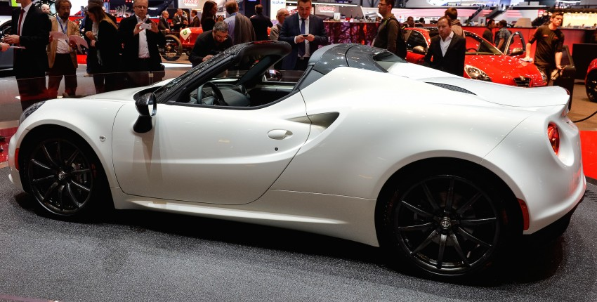 Alfa Romeo 4C Spider concept previews 2015 model Image #234014