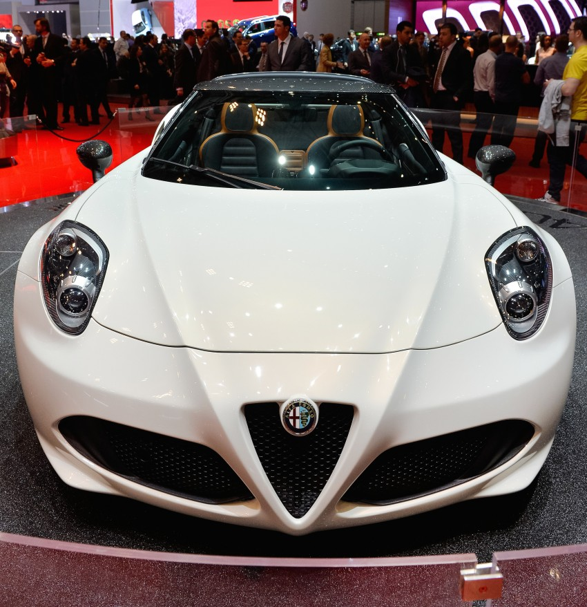 Alfa Romeo 4C Spider concept previews 2015 model Image #234015