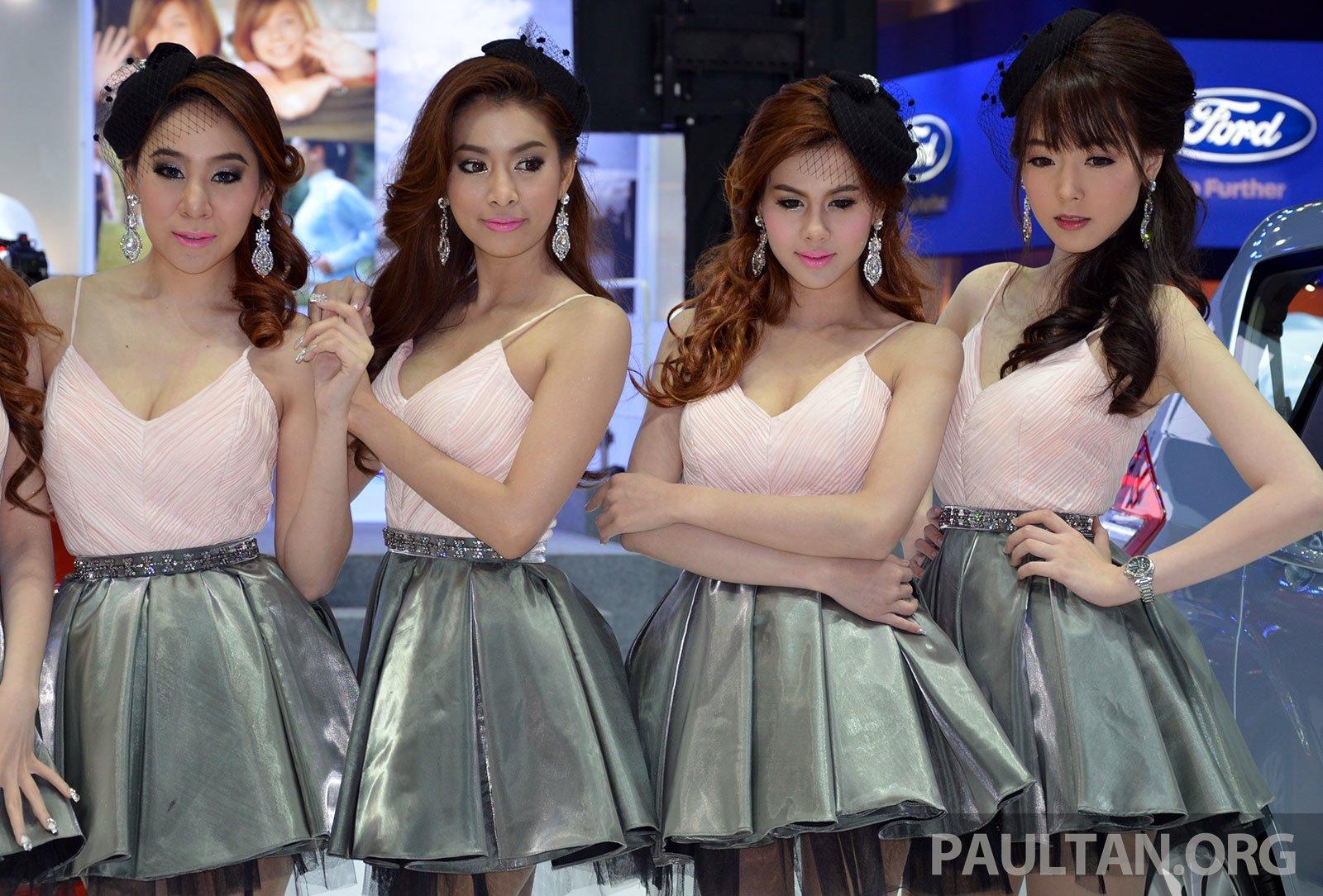 The girls of the 2014 Bangkok Motor Show – Part 1 Image 238491