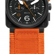 BR03-94-Carbon-Orange-Orange-canvas-strap