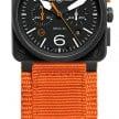 BR03-94-Carbon-Orange-Orange-canvas-strap