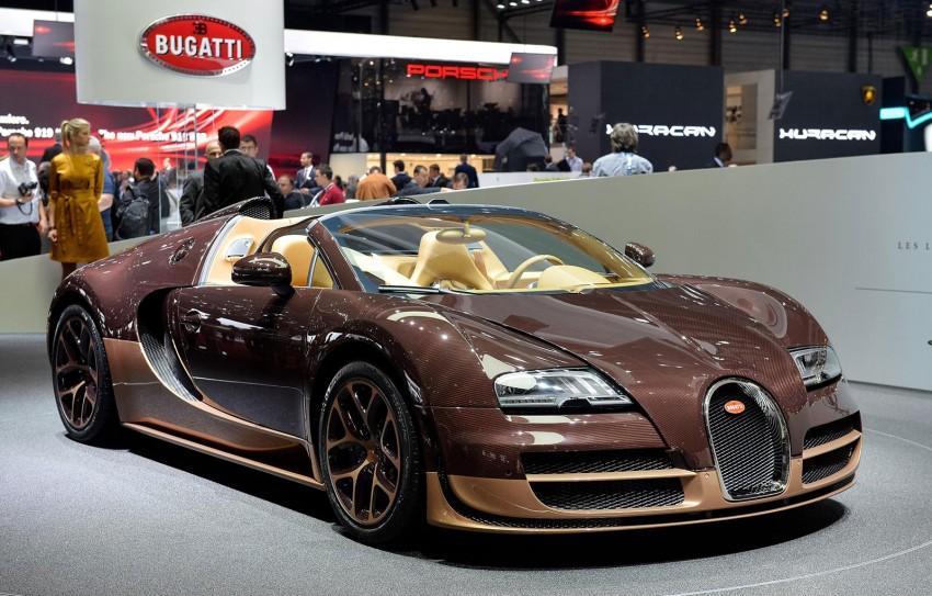 Bugatti Veyron Rembrandt Bugatti, the fourth special Image #234907