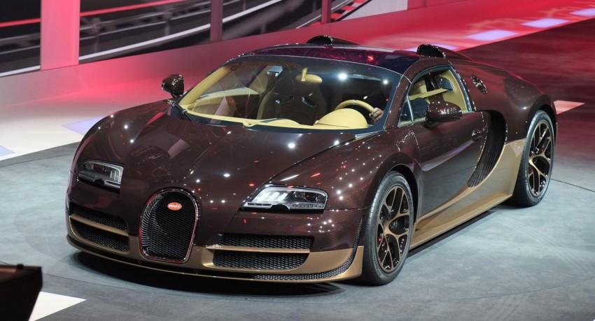 Bugatti Veyron Rembrandt Bugatti, the fourth special Image #234908