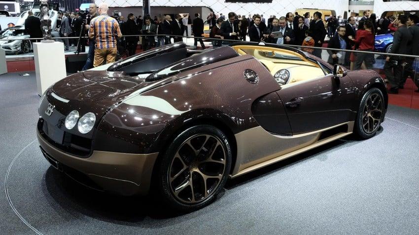Bugatti Veyron Rembrandt Bugatti, the fourth special Image #234909