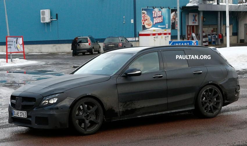 SPYSHOTS: Mercedes-Benz C 63 AMG super wagon Image #234801