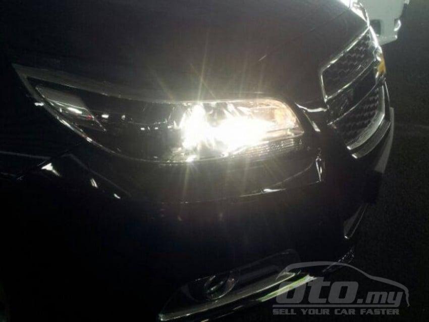 2014 Chevrolet Malibu appears on oto.my – RM163,000 Image #235351