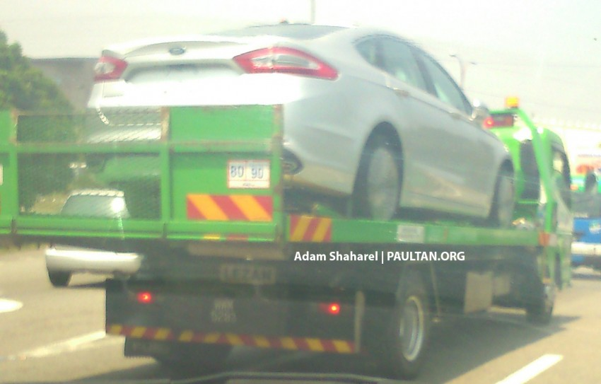 SPIED: Ford Fusion (Mondeo replacement) on ELITE Image #233943