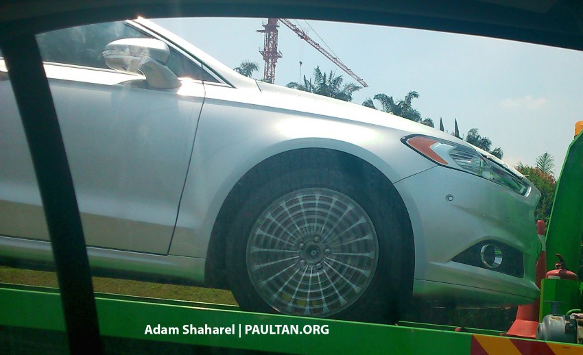 SPIED: Ford Fusion (Mondeo replacement) on ELITE Image #233944