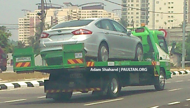 SPIED: Ford Fusion (Mondeo replacement) on ELITE Image #233945