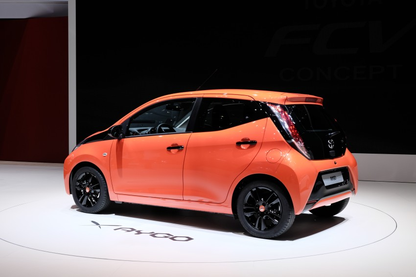 Toyota Aygo – second-gen city car officially unveiled Image #233387