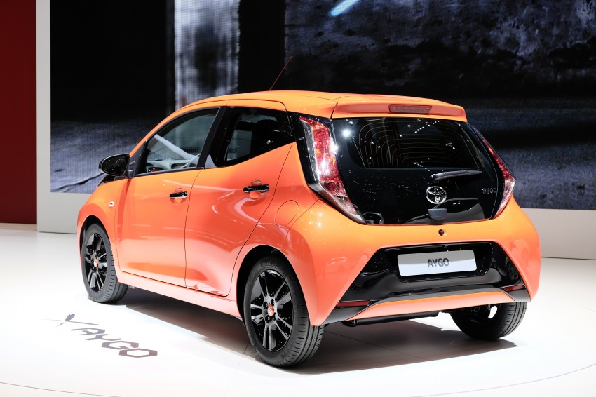 Toyota Aygo – second-gen city car officially unveiled Image #233383
