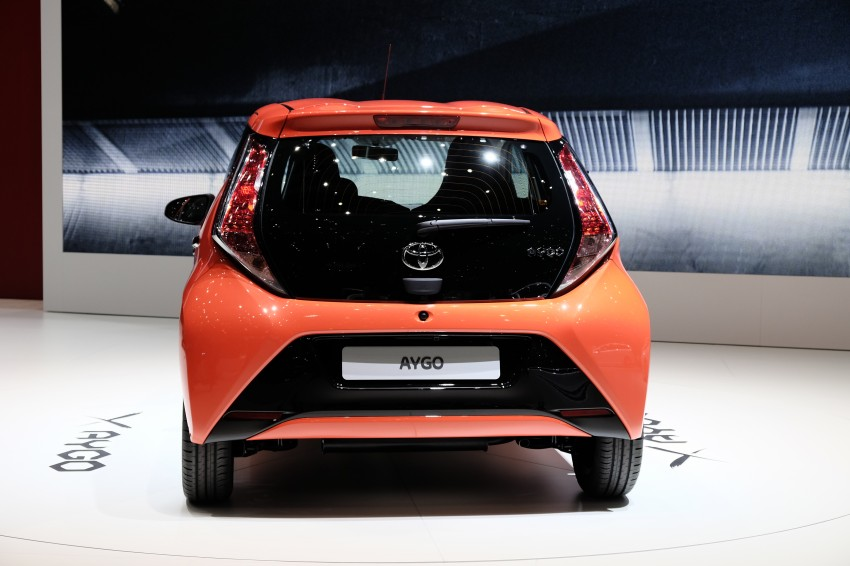 Toyota Aygo – second-gen city car officially unveiled Image #233386
