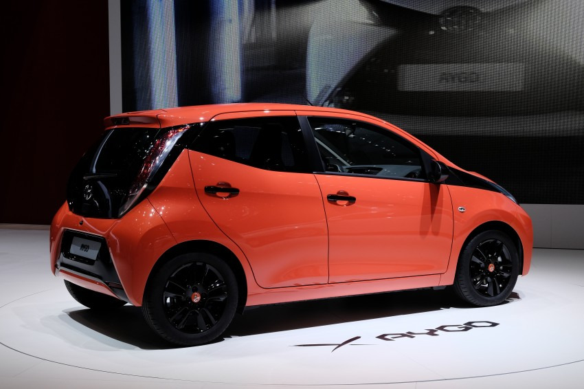 Toyota Aygo – second-gen city car officially unveiled Image #233384