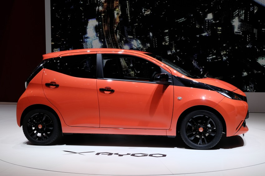 Toyota Aygo – second-gen city car officially unveiled Image #233385