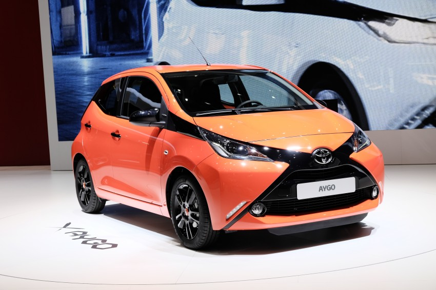Toyota Aygo – second-gen city car officially unveiled Image #233378