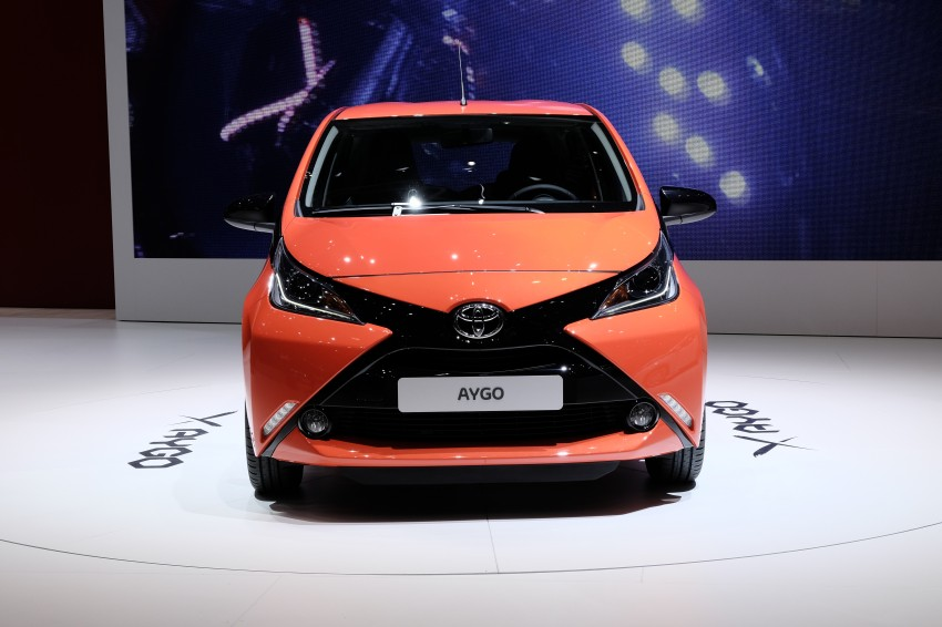 Toyota Aygo – second-gen city car officially unveiled Image #233379