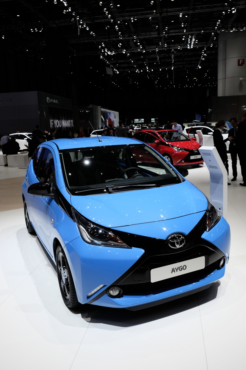 Toyota Aygo – second-gen city car officially unveiled Image #233381
