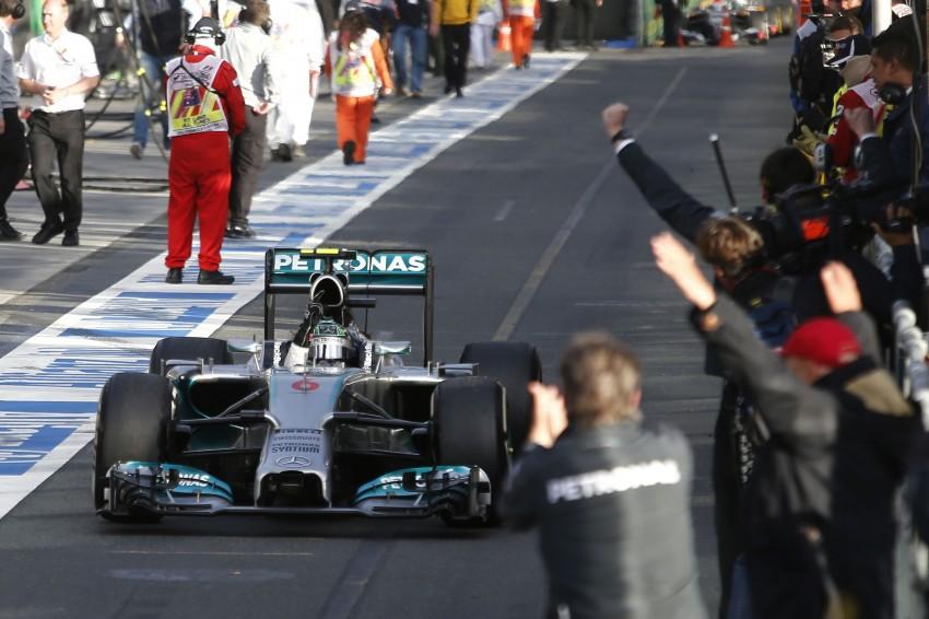 2014 Australian GP – Rosberg on top in Down Under Image #235409