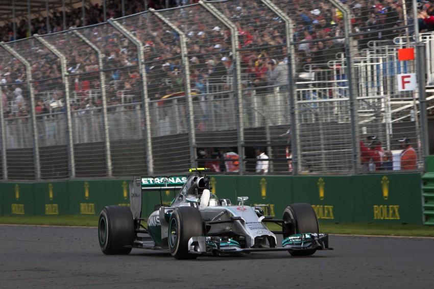 2014 Australian GP – Rosberg on top in Down Under Image #235412