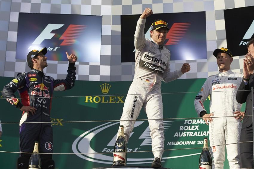 2014 Australian GP – Rosberg on top in Down Under Image #235418