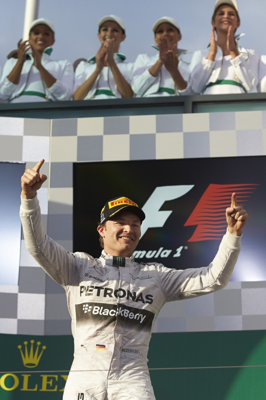2014 Australian GP – Rosberg on top in Down Under Image #235419