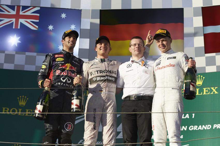 2014 Australian GP – Rosberg on top in Down Under Image #235422