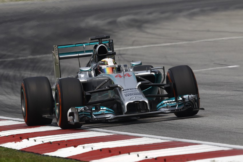 2014 Malaysian GP – Mercedes AMG Petronas wins big Image #238210