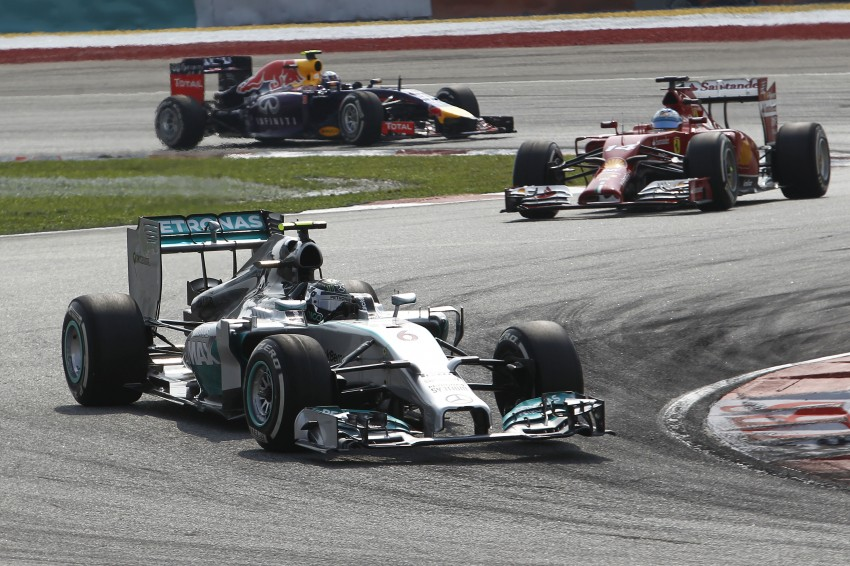 2014 Malaysian GP – Mercedes AMG Petronas wins big Image #238212